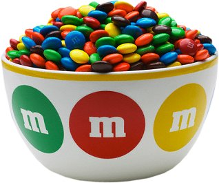 Bowl of M+Ms