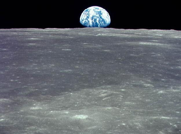 The crew of Apollo 8 were the first humans to see the Earth from deep space.