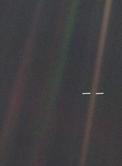 The Earth from 4 Billion miles away