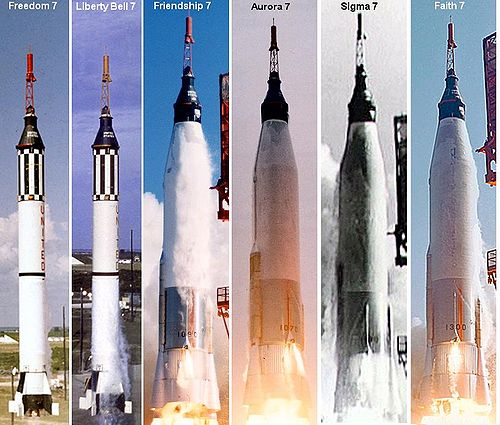 The Rockets of Project Mercury