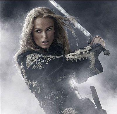 Elixabeth Swan (Keira Knightley)