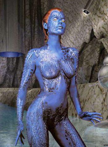 Rebecca romijn stamos as mystique pics