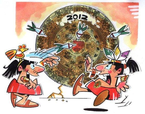 Mayan Calender Comic