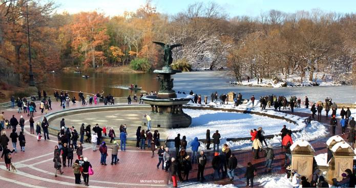 Central Park 90 Days Apart