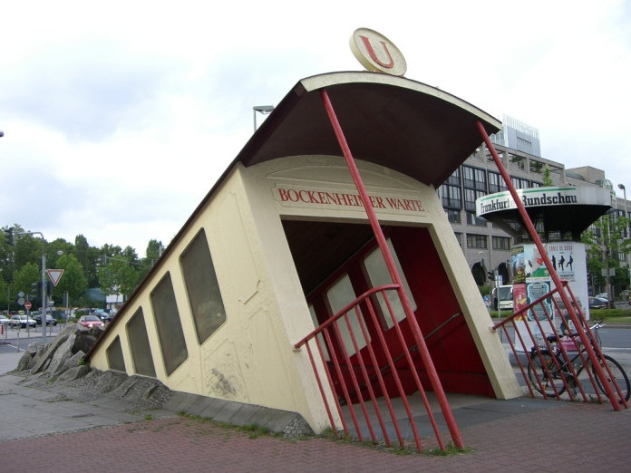 World's Coolest Subway Entrance