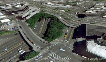 bronx new york google earth glitches errors clement valla