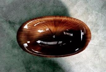 Elegant Bathtubs Made Entirely of Wood 11
