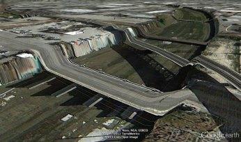 los-angeles-google earth glitches errors clement valla