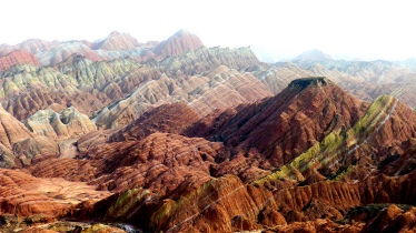 Painted Landscapes of China Danxia 05