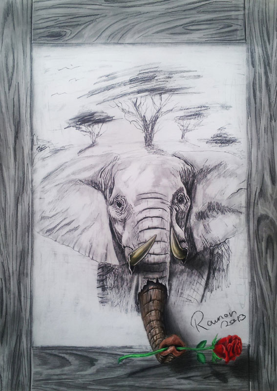 Ramon Bruin - 3D crteži - Page 2 3d-pencil-drawings-by-ramon-bruin-jjk-airbrush-8