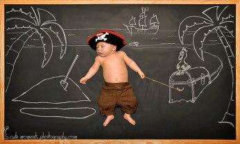 chalkboard advenutres of a newborn baby (5)