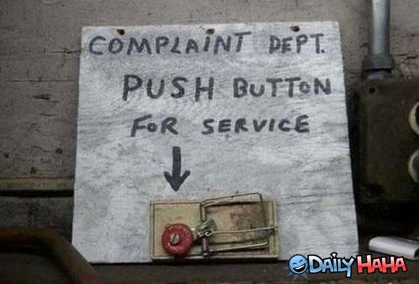 complaint-department