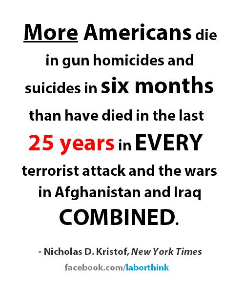 Via Washington Liberals - We're coming to get your guns, imbeciles!