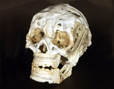 Brian-Dettmer-Melted-Cassette-Tape-Sculptures-9-600x467