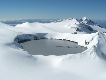 Crater Lake, Mount Ruapehu – New Zealand