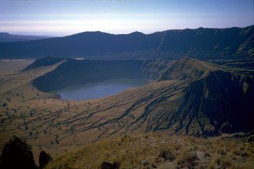 Deriba Crater Lake, Jebel Marra – Darfur, Sudan