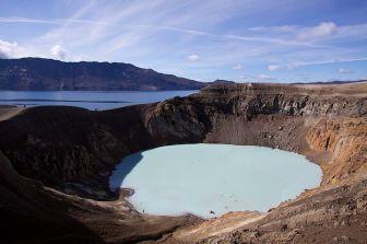 Viti Geothermal Crater Lake, Askja – Iceland
