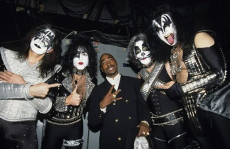 Kiss and Tupac