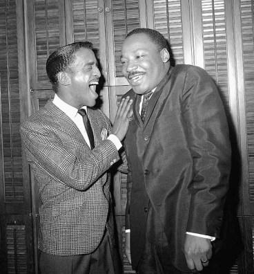 Sammy Davis Jr. And Martin Luther King Jr.