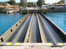 Submersible Bridges at Corinth Canal, Greece