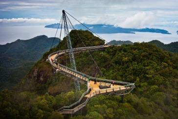 The Langkawi Sky Bridge in Malaysia
