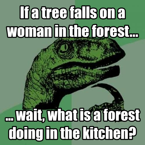 Wait, What Is A Forest Doing In The Kitchen