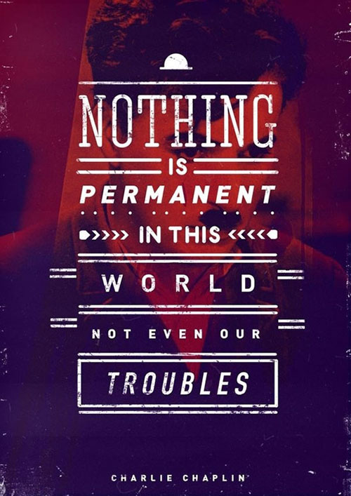 Nothing Is Permanent In This World