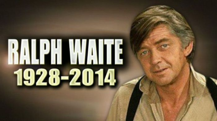 Ralph Waite 1928-2014
