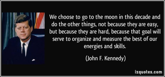 JFK Moon Quote
