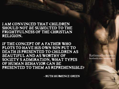 Children Should Not be Subjected to the Christian Religion!
