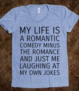 Well... KIND OF like a romantic comedy