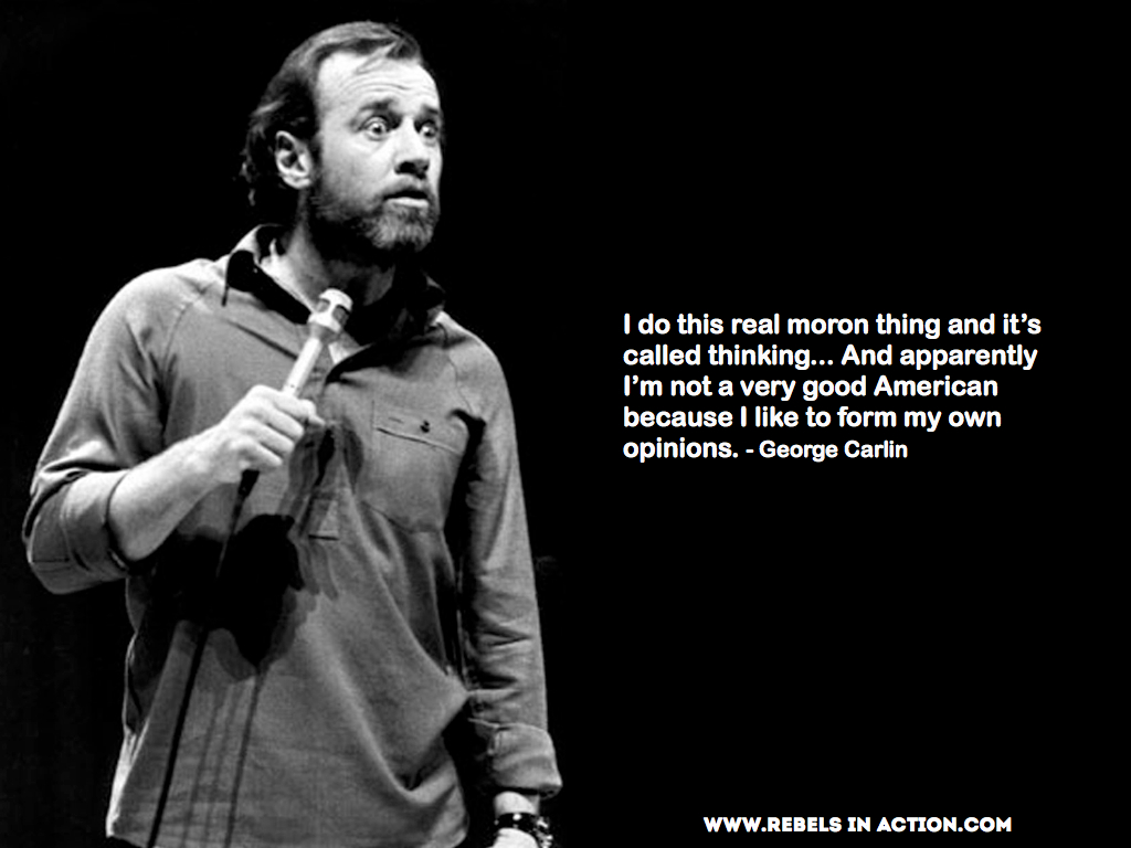 George Carlin Quotes 02 | I Want Ice Water!
