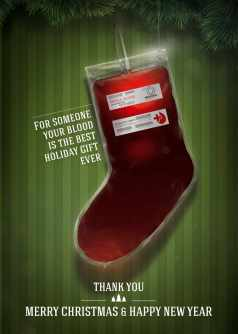 Red Cross: Christmas stocking