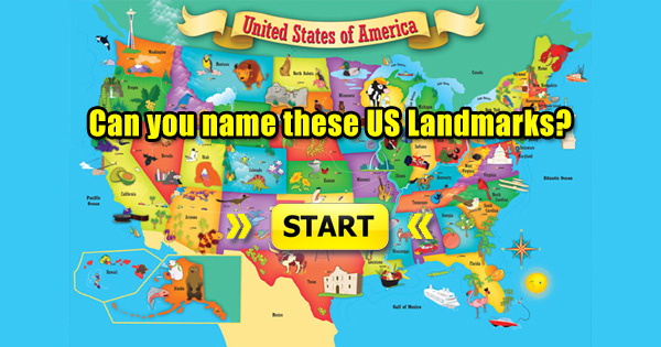 Can you name these US landmarks - Quizified