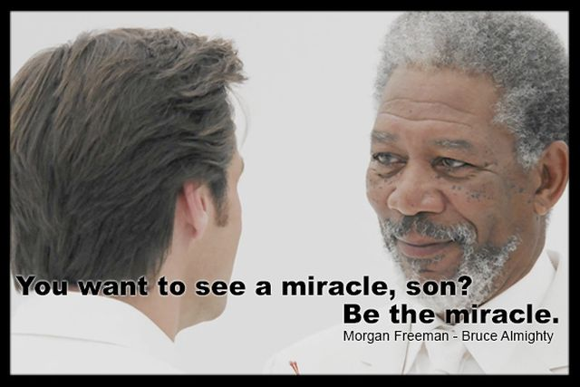 Morgan Freeman - Bruce Almighty