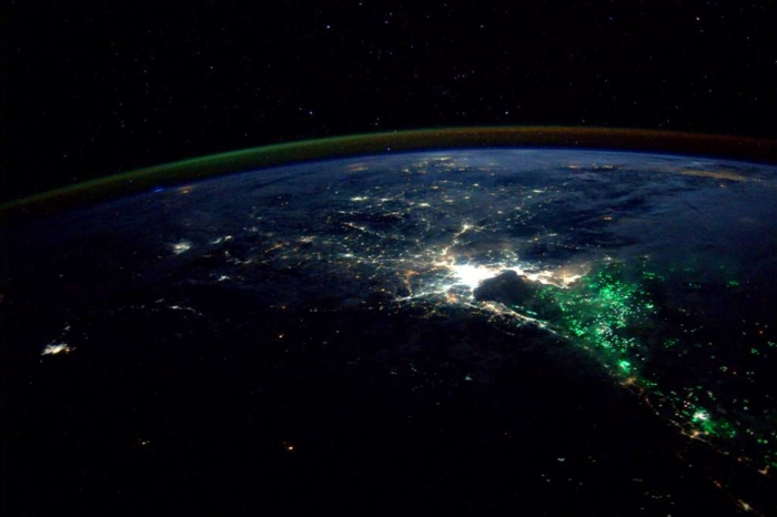 Thailand at night on Aug. 18, 2014