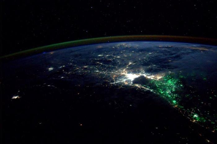 Thailand at night on Aug. 18, 2014