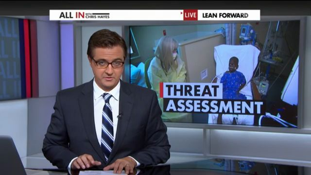 All In with Chris Hayes - Threat Assessment