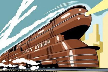 We Call It Riding The Gravy Train
