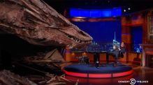 Stephen Colbert Interviews Smaug The Dragon!