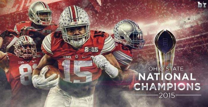 Ohio State Buckeyes - 2015 National Champions
