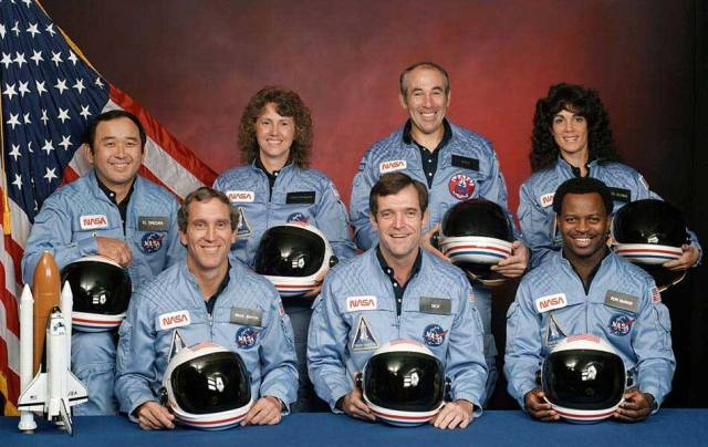 STS-51L crew of Space Shuttle Challenger