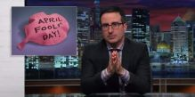April Fools' Day with John Oliver
